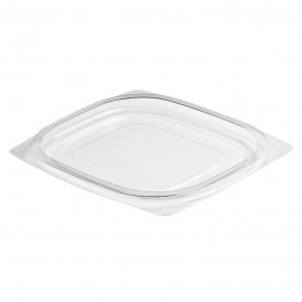Plastic Lid OPS for Deli Container Flat Clear 118/177ml (1008 Units)