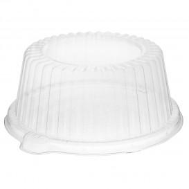 Plastic Dome Lid PS Crystal Ø15x6,4cm (125 Units)