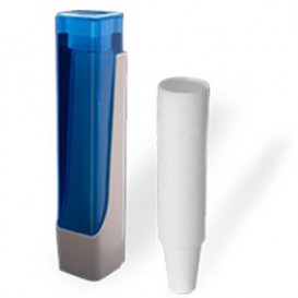 Cup Dispenser Pack 160, 200 y 220ml + 800 White Cups (1005 Unit)