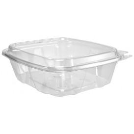 Plastic Deli Container PET Tamper-Evident High Dome Lid 710ml (100 Units)