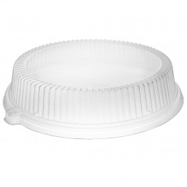 Plastic Lid Clear for Plate Ø26 cm (125 Units)