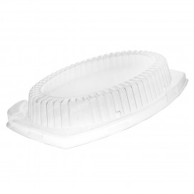 Plastic Lid for Tray 28X22cm (125 Units)
