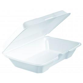 Foam Baguette Container White 2,30x1,50X0,65cm (100 Units)