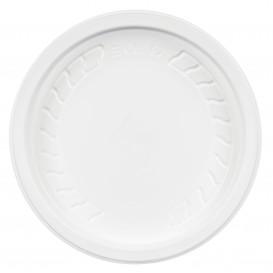 "Plastic Lid PP ""Deli"" White Ø12cm (50 Units)"