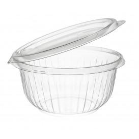 "Plastic Hinged Salad Bowl PET ""PresentaBowls"" Flat 475ml (300 Units)"