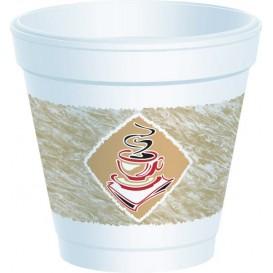 """Foam Cup EPS """"Café"""" 4Oz/120ml Ø6,9cm (50 Units)"""