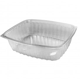 "Plastic Deli Container OPS ""ClearPac"" Clear 1420ml (63 Units)"