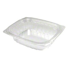 "Plastic Deli Container OPS ""ClearPac"" Clear 237ml (63 Units)"
