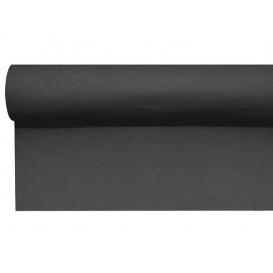 Mantel Camino Airlaid Negro 0,4x48m Precorte (6 Uds)