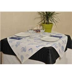 "Pre-Cut Paper Tablecloth 1x1m White ""Marisco"" 37g 1x1m (400 Units)"