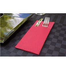 "Pocket Fold Airlaid Napkins ""Kanguro"" Red 40x40cm (30 Units)"