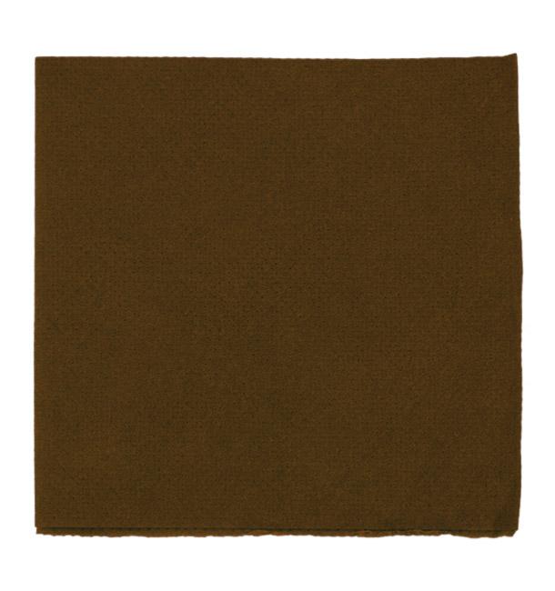 Paper Napkin Micropoint Brown 20x20cm 2C (100 Units)