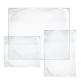 Packing List Envelopes Self Adhesive Clear 2,35x1,30cm (250 Units)