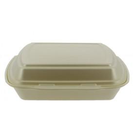 Foam Baguette Container 1 Compartments Champagne 2,40x2,10x0,70cm (125 Units)