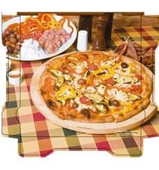 Cajas para Pizza Al Bassanello Tavola 26x26x4,2 cm (100 Uds)