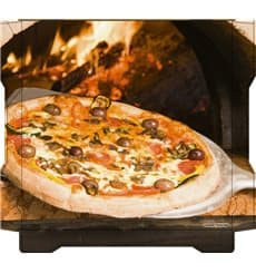 Cajas para Pizza Al Bassanello Pala 40x40x4,2 cm (100 Uds)