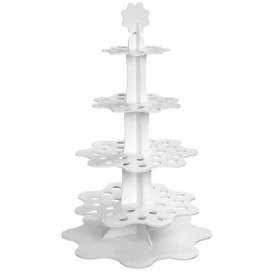 """Display Stand Appetizers and Cones """"Flower"""" 75cm (1 Unit)"""