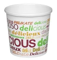 Tarrina de Cartón Delicious para Sopa 12 Oz (500 Uds)