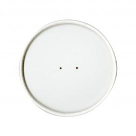 Paper Lid Flat White Ø9,1cm (500 Units)