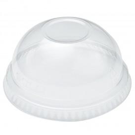Plastic Dome Lid PET Crystal Ø7,8cm (100 Units)