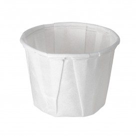 Pleated Paper Souffle Cup 15ml (250 Units)