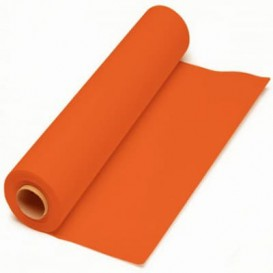 Paper Tablecloth Roll Orange 1x100m. 40g (6 Units)