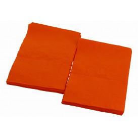 """Paper Napkins """"Miniservis"""" Orange 17x17cm (160 Units)"""