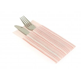 "Airlaid Napkins Kanguro ""Basic Red"" 33x40cm (30 Units)"