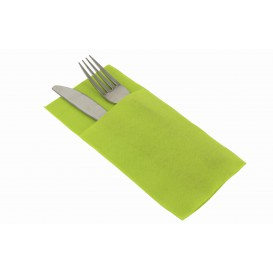 "Pocket Fold Airlaid Napkins ""Kanguro"" Pistachio 40x40cm (480 Units)"
