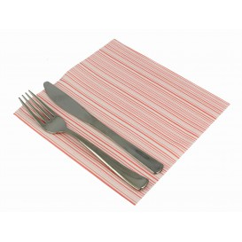 "Airlaid Napkins ""Basic"" Red 40x40cm (50 Units)"
