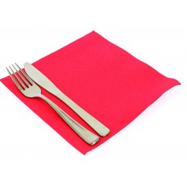 Paper Napkin Double Point Fuchsia 40x40cm (50 Units)