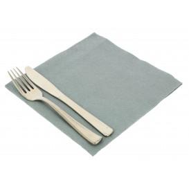 Paper Napkin Double Point Grey  40x40cm (50 Units)