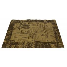 "Paper Placemats 30x40cm Kraft ""Prensa"" 50g (2500 Units)"