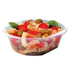 Plastic Bowl PS Crystal 630ml Ø16cm (10 Units)