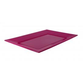 Plastic Tray Fuchsia 33x22,5cm (25 Units)