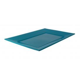 Plastic Tray Turquoise 33x22,5cm (750 Units)