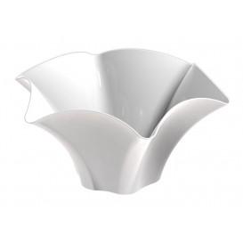 "Tasting Plastic Bowl PS ""Petunia"" White 70 ml (25 Units)"