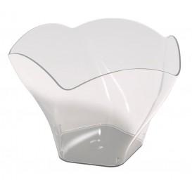 "Tasting Plastic Bowl PS ""Rosa"" Clear 90 ml (25 Units)"