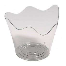 """Tasting Plastic Bowl PS """"Rain"""" Clear 90 ml (500 Units)"""