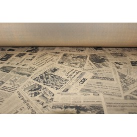 "Paper Tablecloth Roll Kraft ""Prensa"" 1,2x100m 37g (1 Unit)"