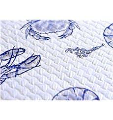 "Pre-Cut Paper Tablecloth 1x1m White ""Marisco"" 37g 1x1m (400 Units)"