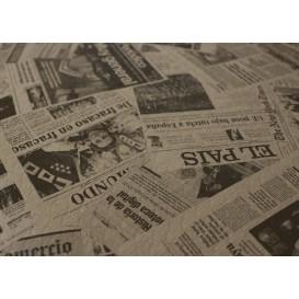 "Pre-Cut Paper Tablecloth 1x1m Kraft ""Prensa"" 37g 1x1m (400 Units)"