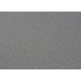 Pre-Cut Paper Tablecloth Grey 40g 1x1m (400 Units)