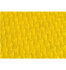 Pre-Cut Paper Tablecloth Yellow 40g 1x1m