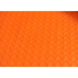 Pre-Cut Paper Tablecloth Orange 40g 1x1m (400 Units)