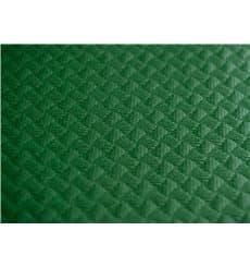 Pre-Cut Paper Tablecloth Green 40g 1x1m (400 Units)
