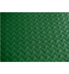 Pre-Cut Paper Tablecloth Green 40g 1x1m (400 Units)