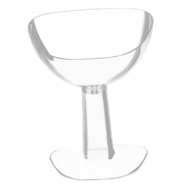 "Plastic Tasting Glass PS ""Viva"" Clear 55ml (12 Units)"