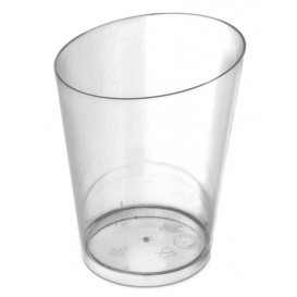 Plastic Tasting Cup PS Cone Shape Clear 100 ml (500 Units)