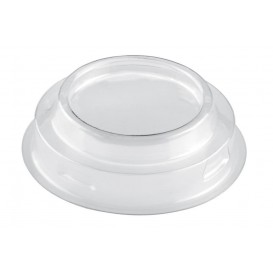 "Plastic Lid PET for Plastic Tasting Cup ""Maxi"" Cone Shape Clear 100ml (25 Units)"